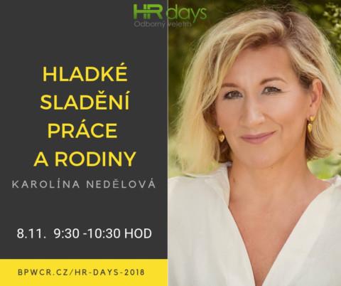 Zahájení druhého dne HR Days