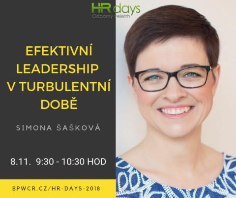 O leadershipu na HR Days 🗓