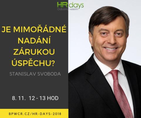 Stanislav Svoboda na HR Days