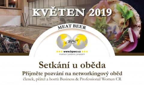 16. 5. 2019 Networkingový oběd s Pavlou Rýznarovou 🗓 🗺