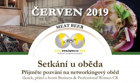 20. 6. 2019 Networkingový oběd s Terezou Zavadilovou 🗓 🗺