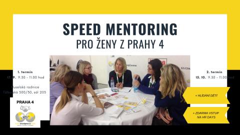 Speed mentoring pro ženy z Prahy 4