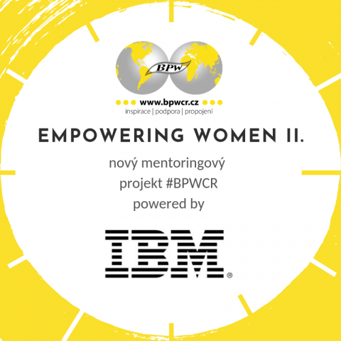3.12. – Třetí mentoringový stůl projektu Empowering Women 2 powered by IBM 🗓 🗺