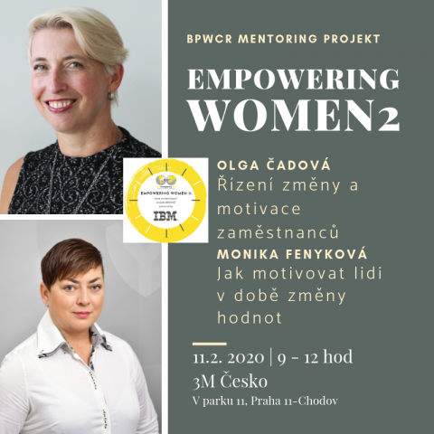 11.2.2020 – Pátý mentoringový stůl projektu Empowering Women 2 powered by IBM 🗓 🗺