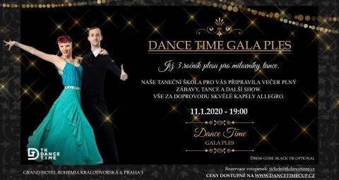 Dance Time GALA Ples 🗓 🗺