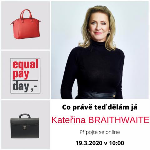 20. 3. 2020 – Co právě teď dělám já. S Kateřinou Braithwaite 🗓