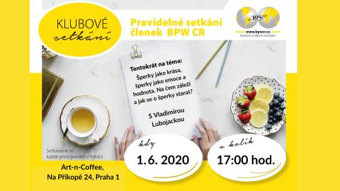 1. 6. 2020 – Klubové setkání s Vladimírou Lubojackou 🗓 🗺