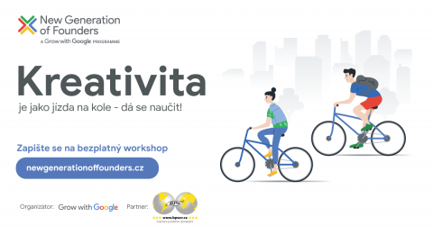 19.8. KREATIVITA s Googlem_New Generation of founders 🗓