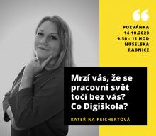 Praha4online: Brzdila ji záplava administrativy kolem jejího podnikání, tak je svěřila digitálním technologiím.
