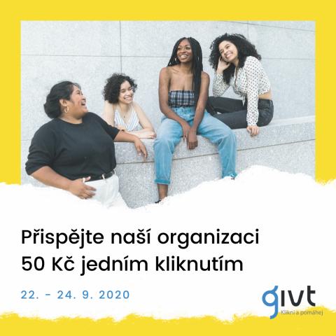 Stáhněte si aplikaci Givt.cz mezi 22 – 24.9. a darujte 50 Kč