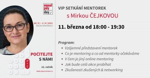 Equal Pay Day 2021 / VIP setkání mentorek