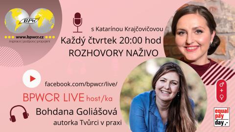 18. 2. 2021 / BPWCR LIVE / BOHDANA GOLIÁŠOVÁ 🗓