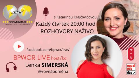 11. 3. 2021 / BPWCR LIVE / LENKA SIMERSKÁ 🗓