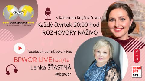 1. 4. 2021 / BPWCR LIVE / LENKA ŠŤASTNÁ 🗓