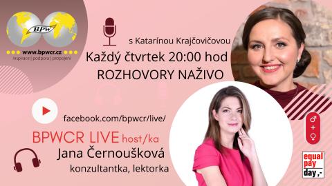 4. 3. 2021 / BPWCR LIVE / JANA ČERNOUŠKOVÁ 🗓