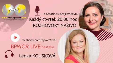 15. 4. 2021 / BPWCR LIVE / LENKA KOUSKOVÁ 🗓