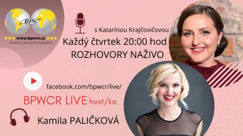 22. 4. 2021 / BPWCR LIVE s Kamilou Paličkovou 🗓