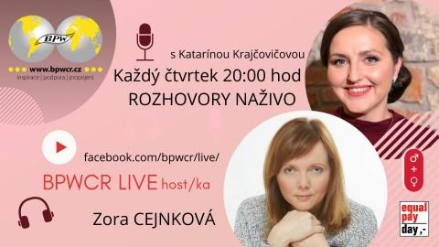 8. 4. 2021 / BPWCR LIVE / ZORA CEJNKOVÁ 🗓