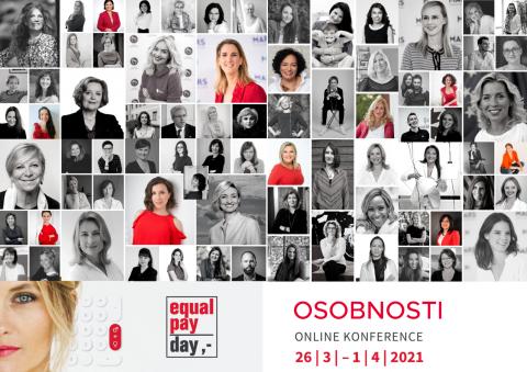 EPD 2021: Nechte se inspirovat osobnostmi 12. ročníku Equal Pay Day – odkudkoli, kdykoli