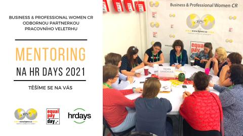 Chcete se stát mentorkou / mentorem na HR DAYS 2021?