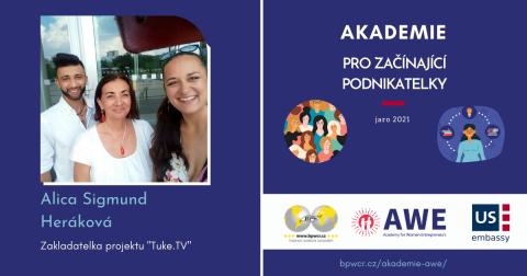 """Alica Sigmund Heráková : """"""""V Tuke.TV natáčíme vlastní pořady jak o kultuře, tak česko-romských vztazích!"""""""