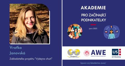 """Vraťka Janovská : """"Náš projekt zjednodušuje cestu sezónních produktů k lidem!"""""""