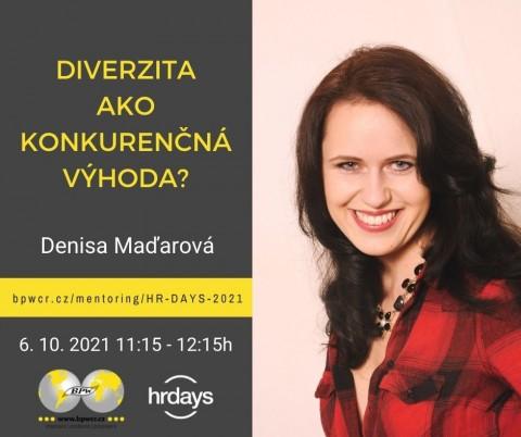 Denisa Maďarová: Diverzita ako konkurenčná výhoda?
