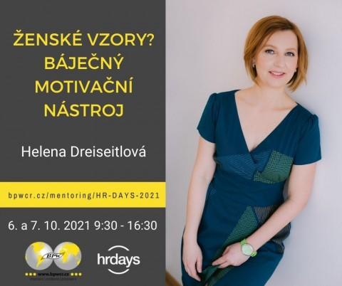 Helena Dreiseitlová: Ženské vzory? Báječný motivační nástroj