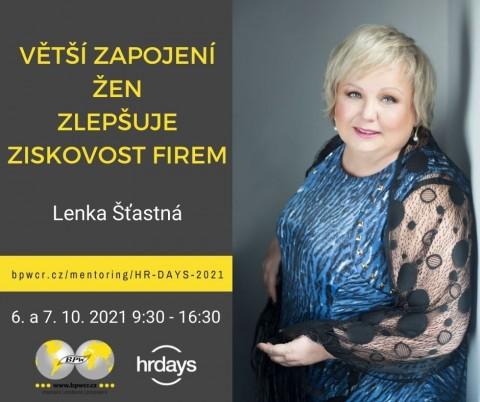 Lenka Šťastná: Větší zapojení žen zlepšuje ziskovost firem