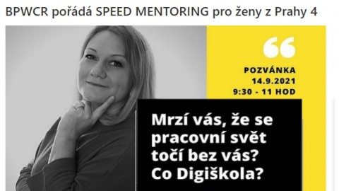B2B: BPWCR pořádá SPEED MENTORING pro ženy z Prahy 4