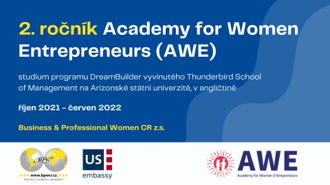 Vybíráme partnera pro 2. ročník Akademie pro začínající podnikatelky