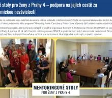 Praha4online: Kulaté stoly pro ženy z Prahy 4 – podpora na jejich cestě za ekonomickou nezávislostí