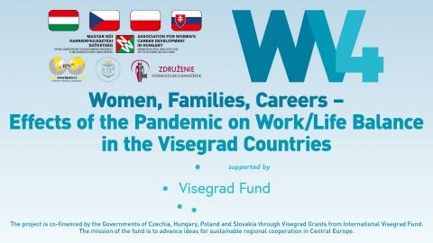 Ženy, rodina, kariéra – Dopady pandemie na rovnováhu mezi prací a životem v zemích Visegrádu